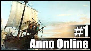 Первые впечатления от ЗБТ - Anno Online CBT #1