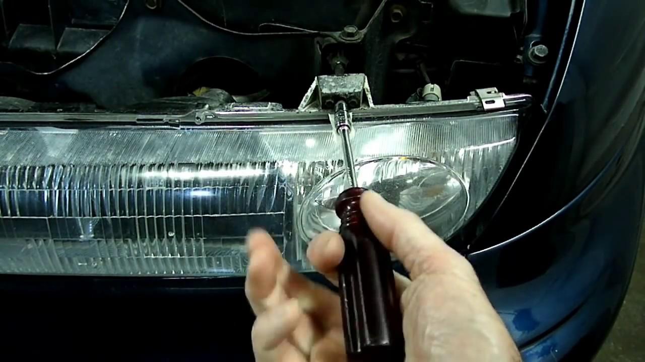 hight resolution of adjusting headlights updated