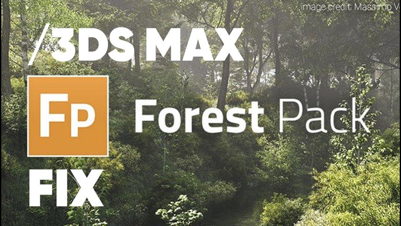 ForestPack fix script