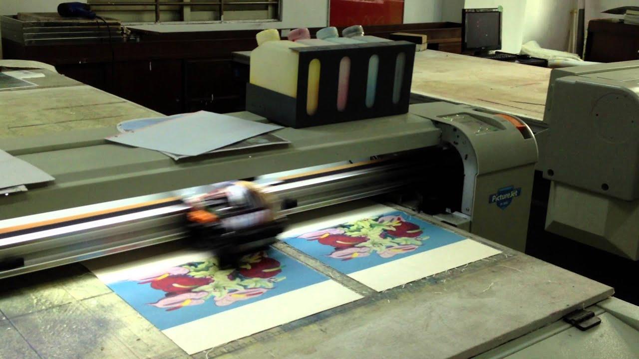canvas printer machine