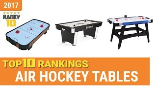 Best Air Hockey Table Top 10 Rankings, Review 2017 & Buying Guide