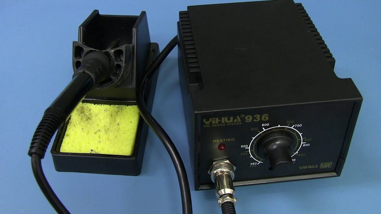 Eevblog 596 Worlds Cheapest Soldering Station Yihua 936 Youtube Weller Wlc 100 Temperature Controlled