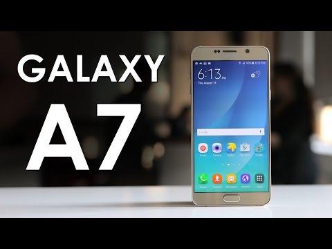 استعراض للهاتف المحمول Samsung Galaxy A7 نسخة 2016