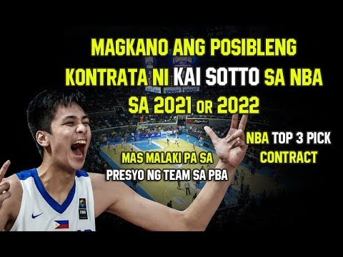Magkano Ang Kontrata Ng Mga First Round Pick Sa NBA | Mas Mahal Pa Sa isang PBA Team