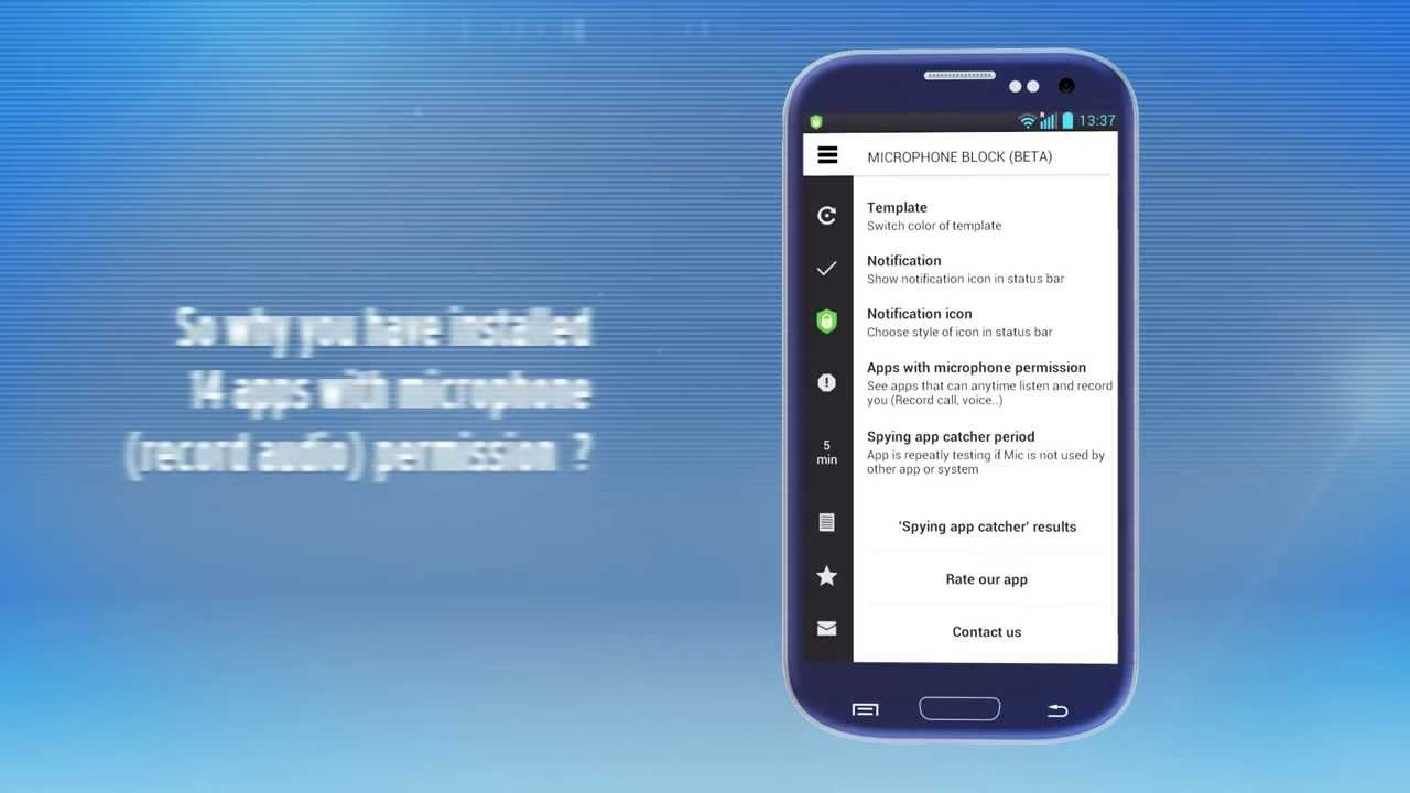Microphone Block - Voice and call antispyware for android