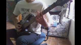 Betraying the martyrs - Out of Egypt (guitar cover)