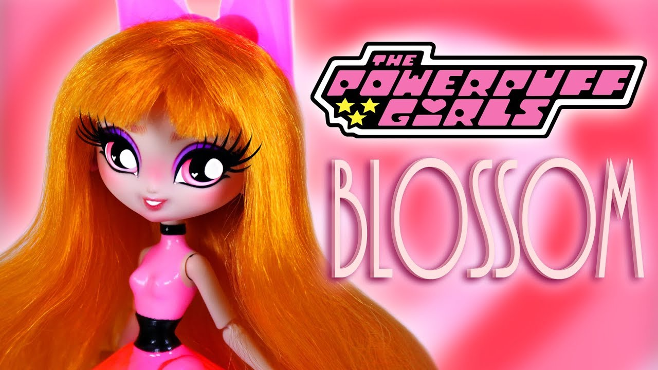 Custom Blossom Doll  [ POWERPUFF GIRLS 💗OOAK ]