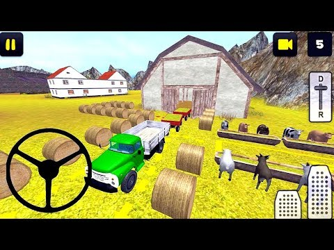 Classic Farm Truck 3D: Feed Transport Android Game Play