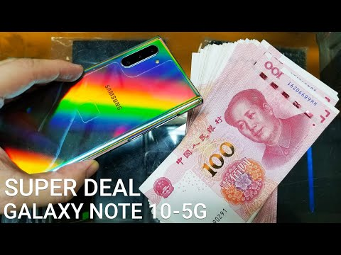 I Bought Brand New Samsung Galaxy Note 10 5G In China - Super Deal