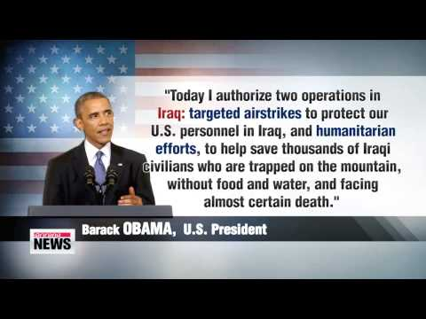 Obama orders limited airstrikes in violence-stricken Iraq
