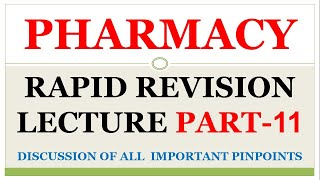 47 34 MB] Download Lagu PHARMACY RAPID REVISION LECTURE DISCUSSION