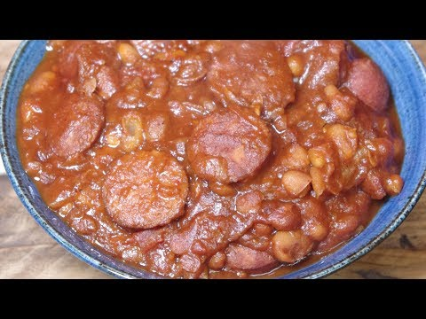 Cowboy Beans And Chorizo - Recipe Video