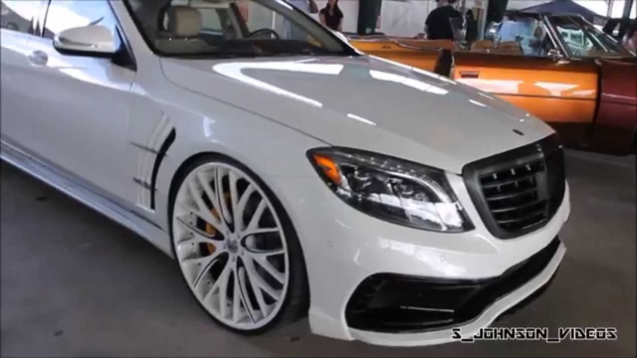 Ed amani s550 benz on amaniforged 24 inch mondo mesh at for 24 inch mercedes benz rims