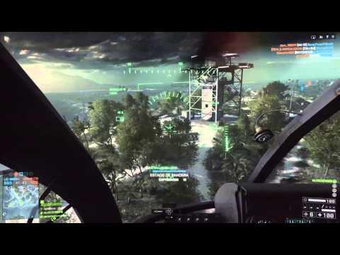 Battlefield 4 Helicóptero (PS4 Gameplay)