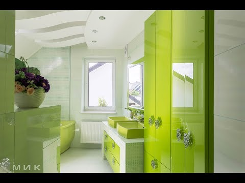 "Ванная комната на заказ, мебель производства ""МИК"""