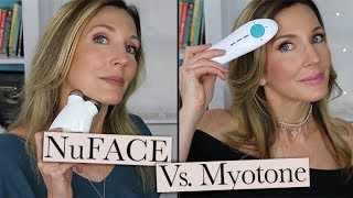 NuFACE vs Myotone ~ Microcurrent At-Home Facial Toning Device Comparison