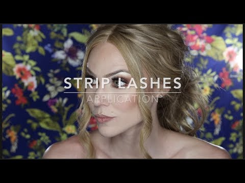 How To Apply Strip LashesTutorial