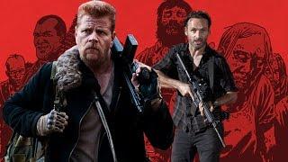 Walking Dead: Season 6 Episode 14 :Panel to Screen Comparison