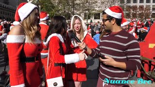 Asking People Political Questions At SantaCon San Francisco