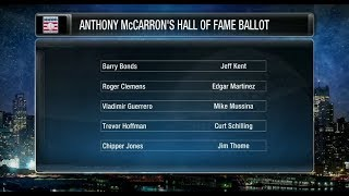 Checking in on the MLB Hall of Fame voting, where does it stand?
