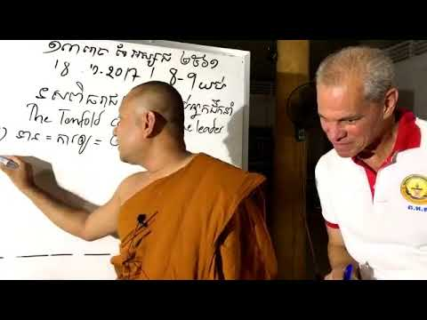 Please study English about Buddhism altogether.