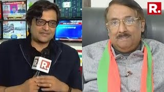 Tom Vadakkan Speaks To Arnab Goswami After Leaving Congress And Joining BJP  #May23WithArnab