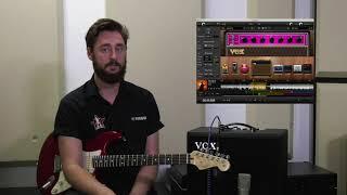 Vox Cambridge 50 Watt Amplifier - Walk though with sound examples