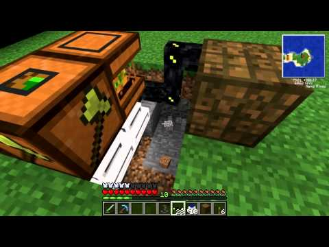 Minecraft: Feed The Beast - Episode 6 | Automatic Rubber/ Resin Farm, Twilight Portal!