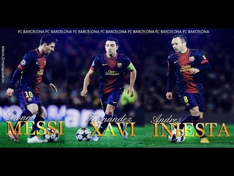 Messi, Xavi & Iniesta - Magical Ball Controls (HD) thumbnail