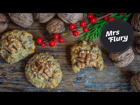 gesunde-bananenbrot-kekse-backen-/-einfache-cookies-vegan