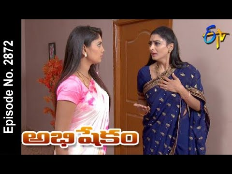 Abhishekam | 31st  March 2018  | Full Episode No 2872 | ETV Telugu