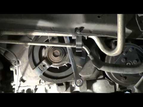 2002 Pontiac Grand Am Serpentine Belt  Tensioner Replacement - YouTube