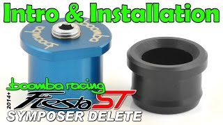 Ford Fiesta ST Boomba Racing SOUND SYMPOSER DELETE BLUE for 2014