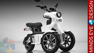 5 AWESOME SCOOTERS and E BIKES That Could Change How You Travel 4◄