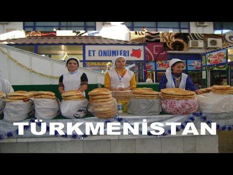 Türkmenistan 4. Bölüm   Halı Müzesi /Gülistan Pazarı