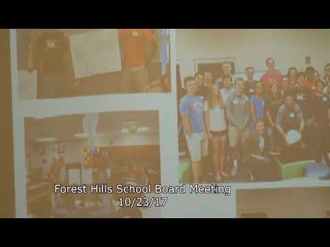 Forest Hills School Board Meeting 10/23/17