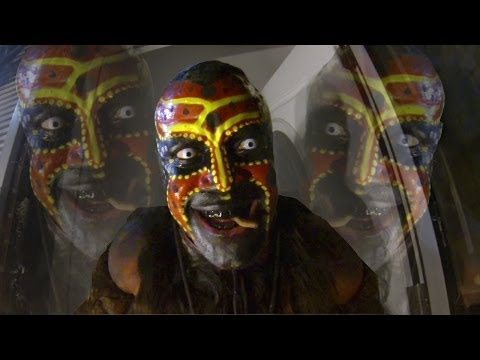 The Boogeyman terrifies trick-or-treaters -