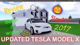 UPDATED TESLA MODEL X REVIEW!!! greenville roblox