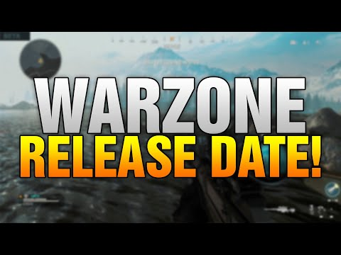 CALL OF DUTY WARZONE RELEASE DATE! - ALL Possible Release Dates For Modern Warfare Battle Royale!