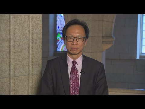 Senator Yuen Pau Woo talks about the Canada Post back-to-work bill ...