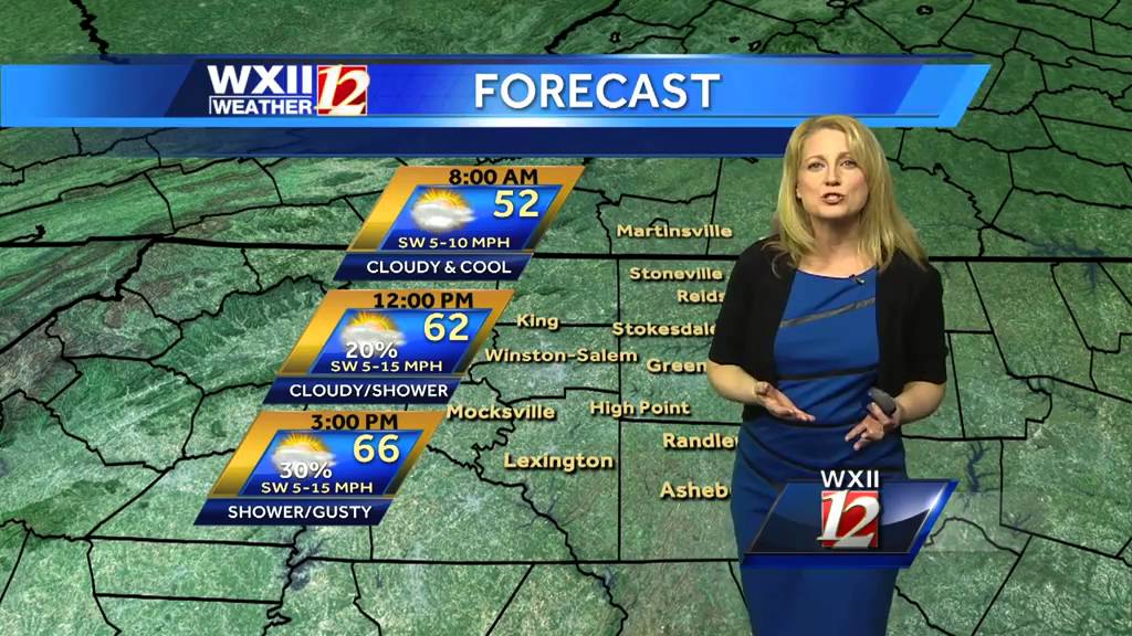 Michelle's weather: Rain on the way by WXII 12 News