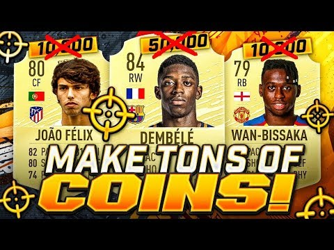 MAKE TONS OF COINS WITH THIS METHOD!! FIFA 20 Ultimate Team
