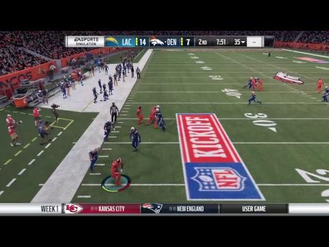 Week 1 - Los Angeles Chargers vs Denver Broncos