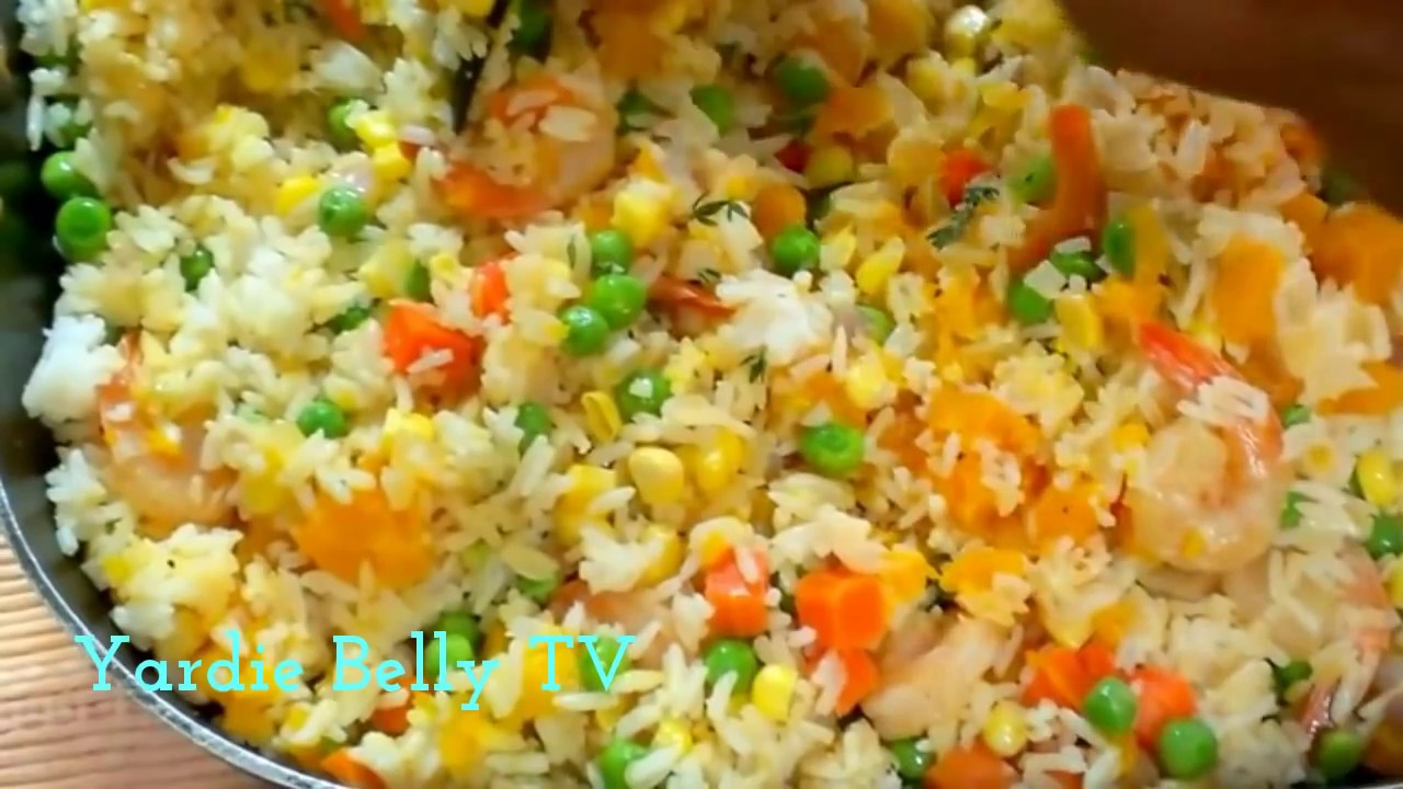 Jamaican Seasoned Rice - YouTube