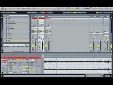 Rhythmic Vocal Gating (Ableton Live)