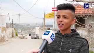 قوات الاحتلال تداهم قرية دير نظام وتعتدي على طلاب مدرستها - (23/2/2020)