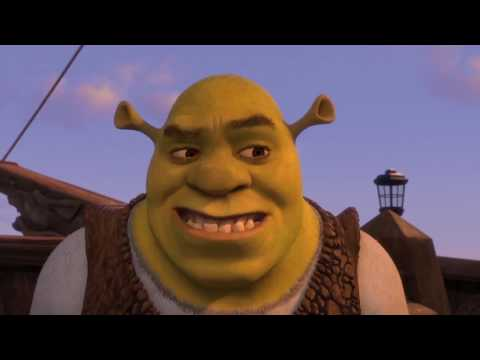 Shrek the Third But It Exponentially Speeds Up Then Slows Down At The Credits