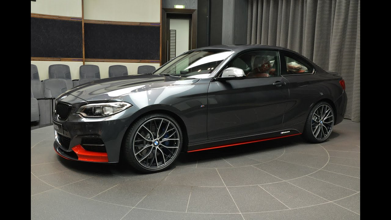BMW M235i with M Performance Parts - YouTube
