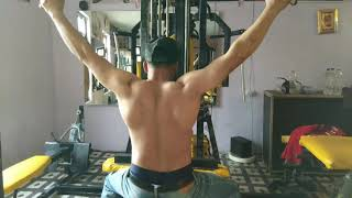 Fitness darhal fitness 9 unisex gym darhal. Back work out  mr safeer malik