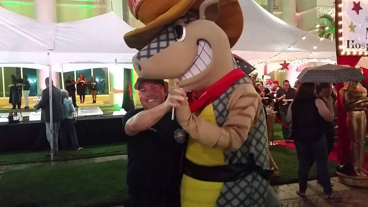 texas roadhouse armadillo mascot